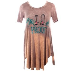 Bullet proof Judith March top